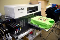 Estampadora de serigrafia digital BrotherGT